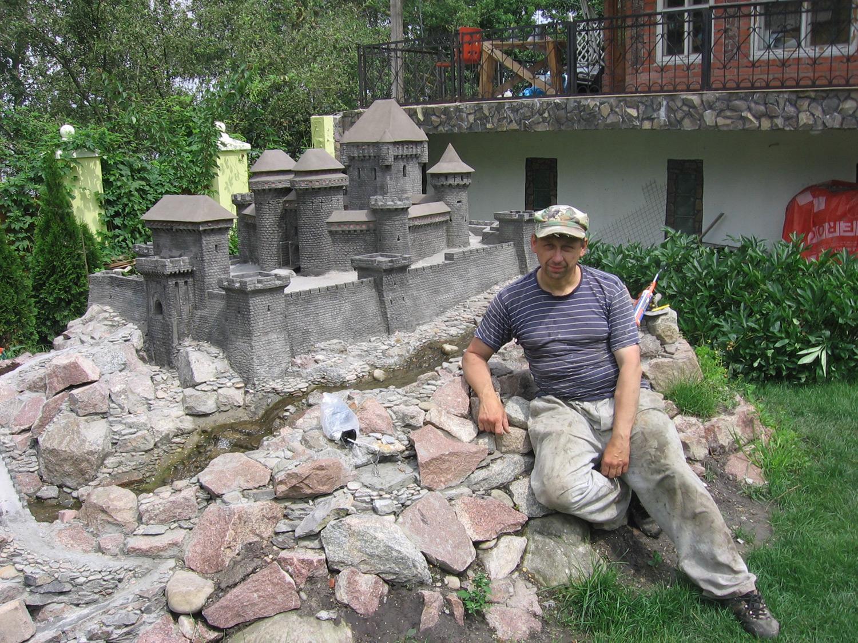 Макеты замков и крепостей